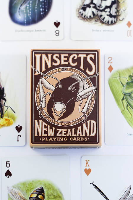 Native Insect Playing Cards