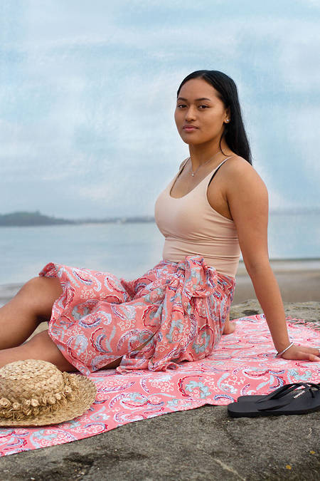 Kaipara Sarong + Beach Throw