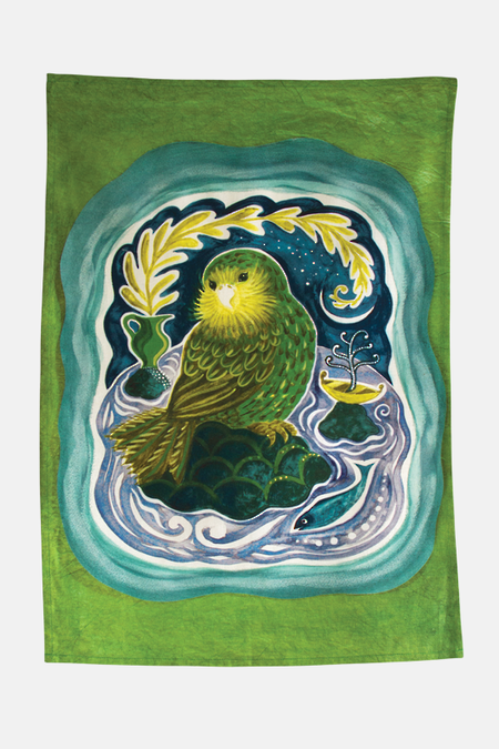 Kakapo Tea Towel
