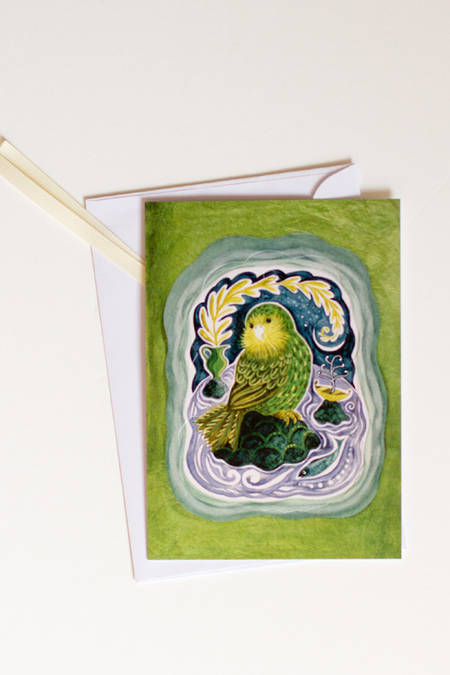 Pop-Out Card Kakapo