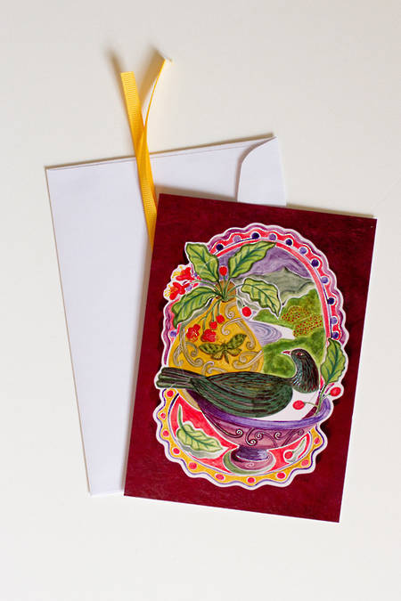 Pop-Out Card Kererū