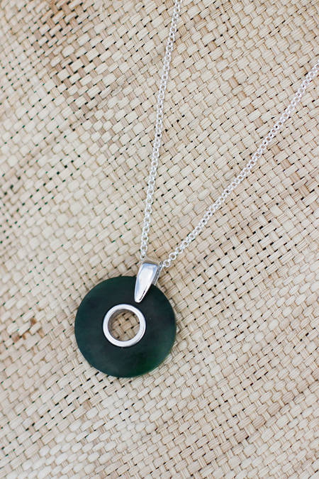 Pounamu Circle Necklace