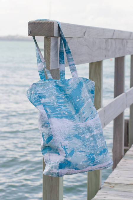Sea Sparkle Beach Bag