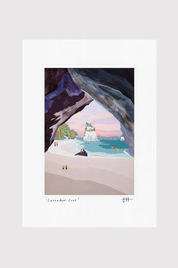 Cathedral Cove Print