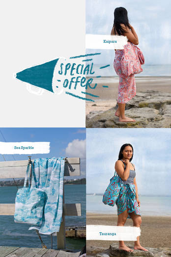 Sarong + Beach Bag Deal