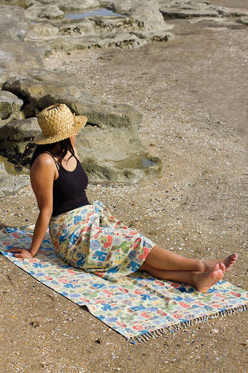 Orewa Sarong + Beach Throw