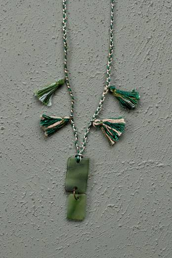 Braided Pounamu Necklace - Toru