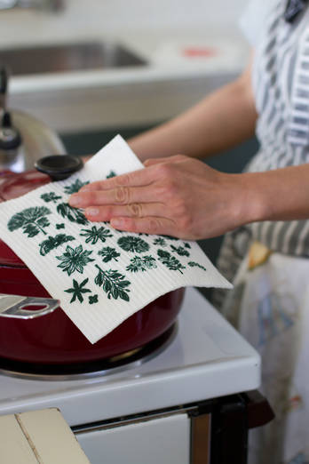 Eco Kitchen Cloth Flora