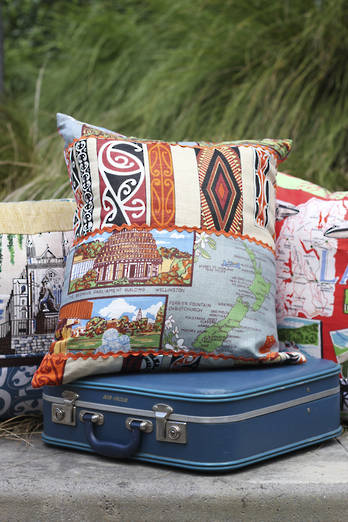 Refashioned cushion covers