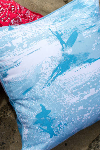Sea Sparkle cushion cover