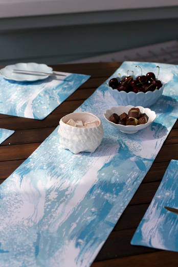 Sea Sparkle Table Runner
