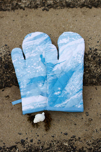 Sea Sparkle Oven Gloves Pair