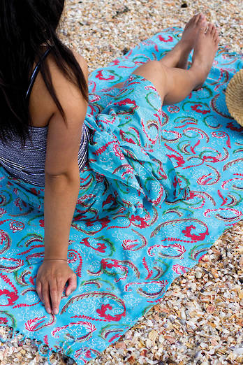 Tauranga Sarong + Beach Throw