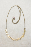 cat fishbone-necklace