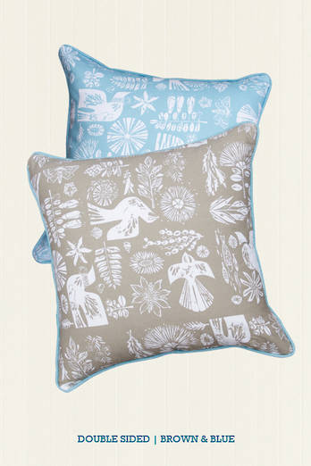 Kupe Sea Piped Cushion