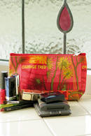 Cabbage Trees | Small Cosmetic Bag