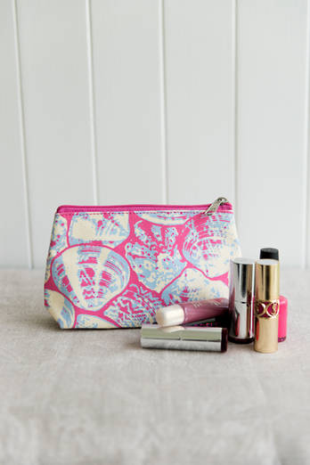 Dawn Pink Cosmetic Purse