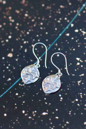Southern Cross Silver earrings