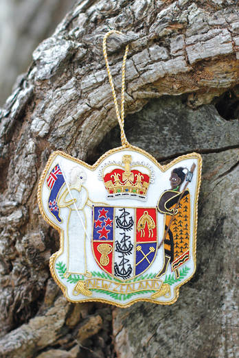 Coat of Arms hanging  Fob