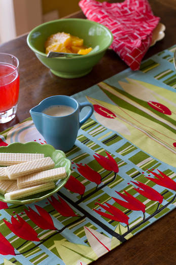Harakeke Table Runner - Sunny