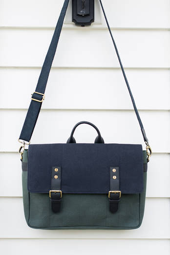 Huia Canvas Satchel