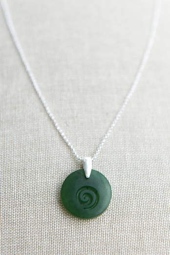 Pounamu Koru Necklace