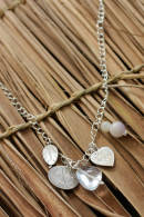 Long White Cloud Medley Necklace