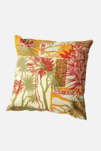Cabbage Tree-Autumn Cushion