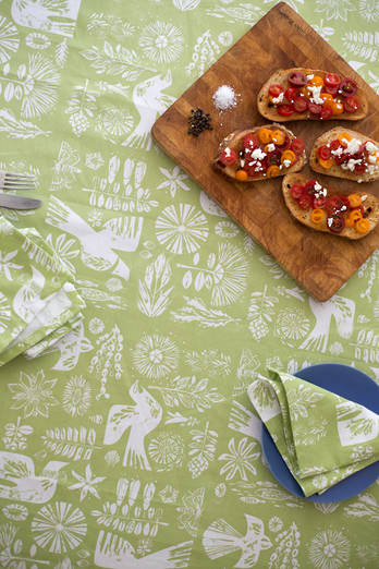 Kupe Fern Tablecloth
