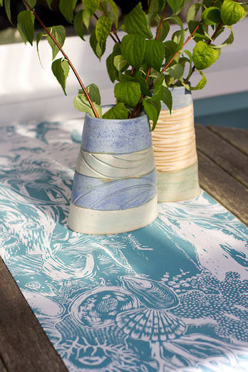 Raumati Ocean Table Runner