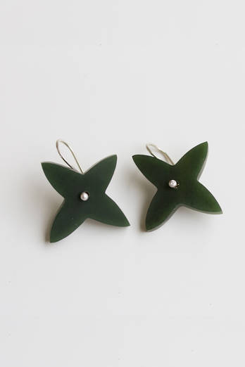 Pounamu Southern Cross Earrings