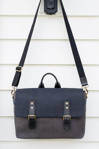 Piha Canvas Satchel