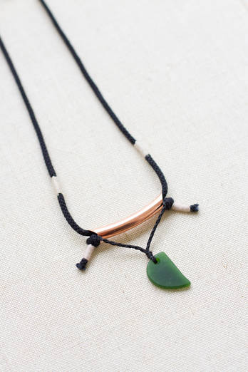 Copper Pounamu Necklace