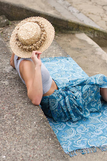 Kahurangi Sarong + Beach Throw