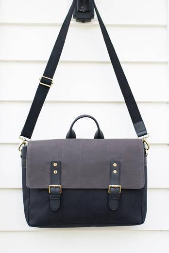 Tamaki Canvas Satchel