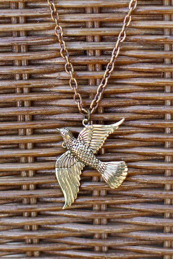 Bronze Tui necklace